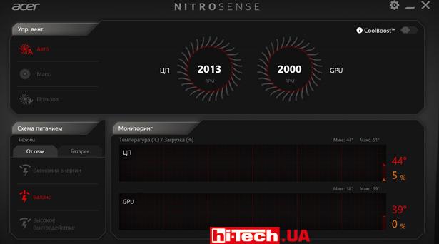Nitro Sense