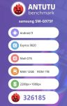 Samsung Galaxy S10 Plus antutu