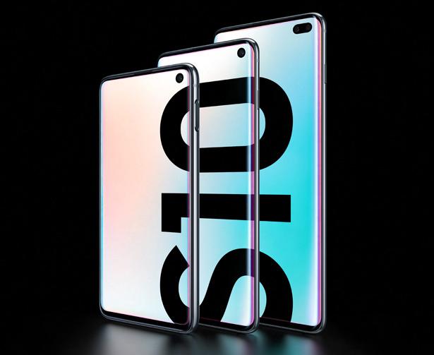 Семейство новых смартфонов Samsung Galaxy S10e, Galaxy S10 и Galaxy S10+