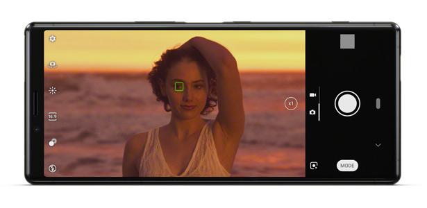 Автофокусировка по глазам в Sony Xperia 1