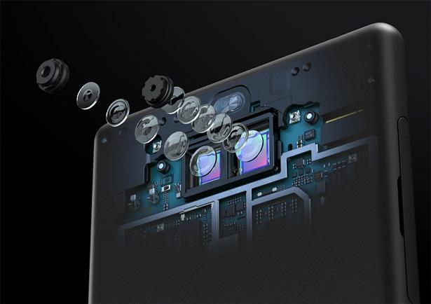 Камеры Sony Xperia 10 Plus
