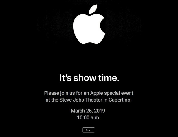 Apple March 25 2019