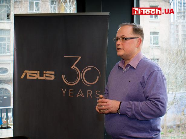 Михаил Лукашевич, глава представительства ASUS в Украине