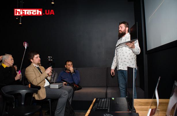 Презентация в Украине первых игровых ноутбуков ROG Zephyrus S и ROG Strix SCAR II