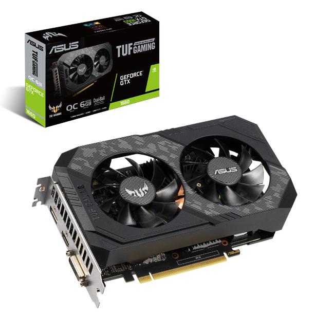Видеокарта на базе NVIDIA GeForce GTX 1660 от ASUS