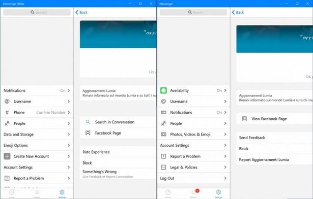Что нового в Facebook Messenger для Windows 10