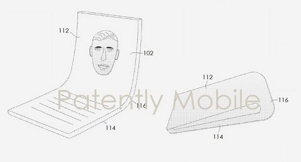 Google flexible smartphone patent