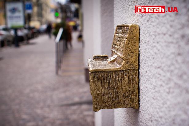 Мини-скульптура «Киевский компьютер»