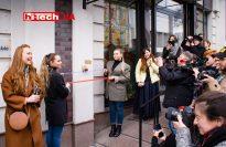 Открытие мини-скульптуры «Киевский компьютер»