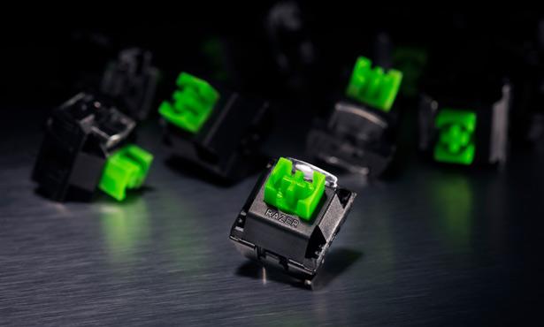 Механические переключатели Razer Green