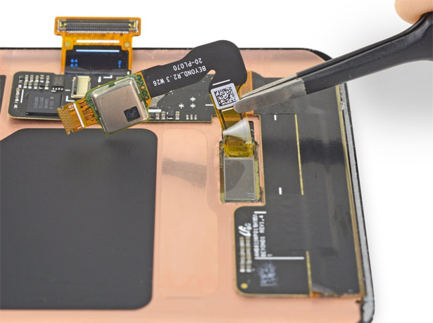 сенсор отпечатка