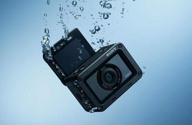 Sony RX0 II под водой