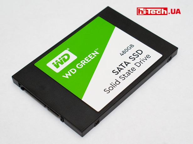 WD Green SSD 480 ГБ (WDS480G2G0A)