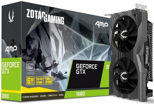 Zotac Gaming GeForce GTX 1660 AMP!