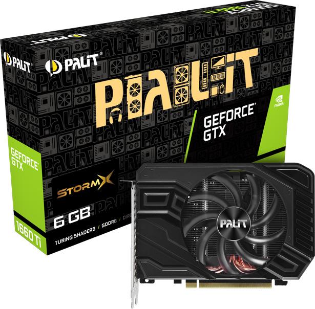 Видеокарта на базе NVIDIA GeForce GTX 1660 от Palit