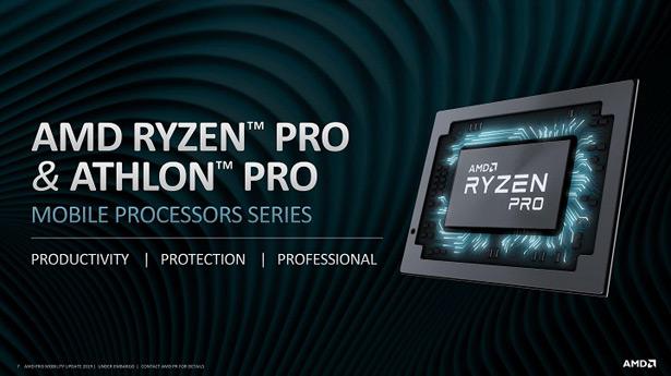 AMD Ryzen Pro 2019