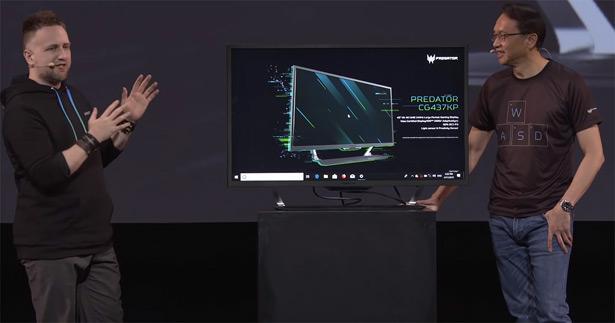Acer Predator CG437K P