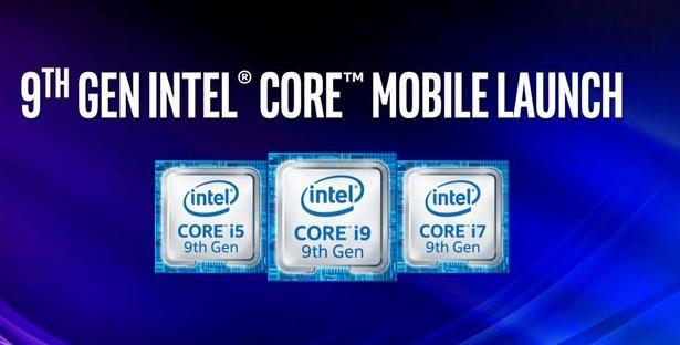 Intel Core девятого поколения для ноутбуков