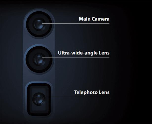 Камеры Oppo Reno 10x Zoom