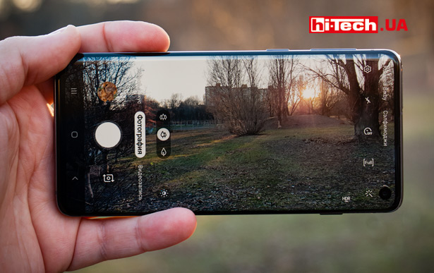 Камера Samsung Galaxy S10