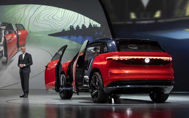 Электромобиль Volkswagen ID ROOMZZ