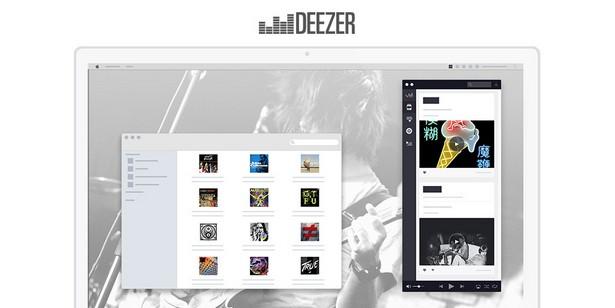 Deezer new design