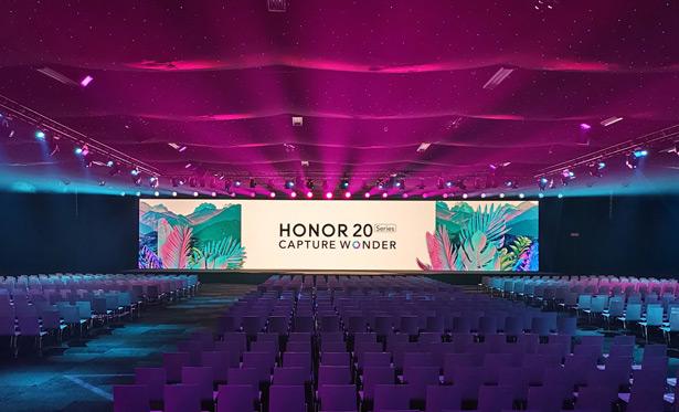 Онлайн-трансляция презентация смартфонов серии HONOR 20