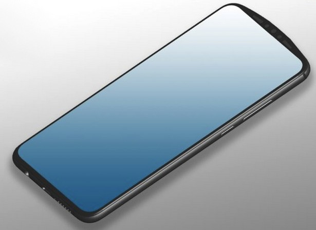 Huawei front camera concept