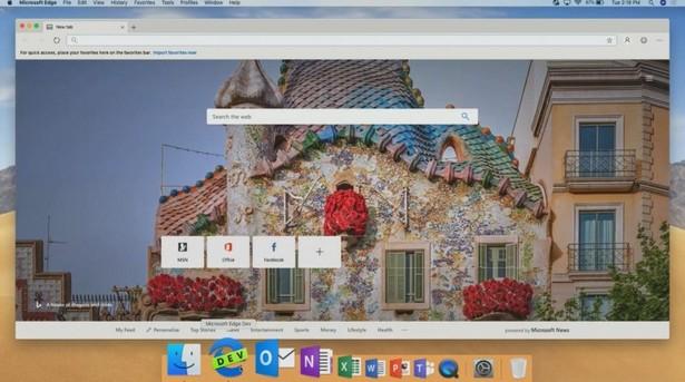 MS Edge Mac OS
