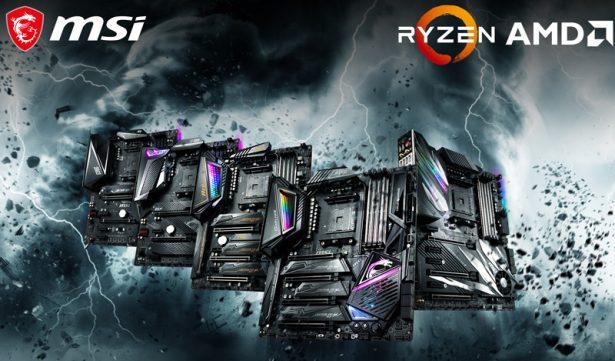 Материнские платы MSI на базе AMD X570