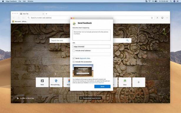 Microsoft Edge Chromium macOS