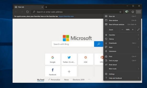 Microsoft Edge на Chromium