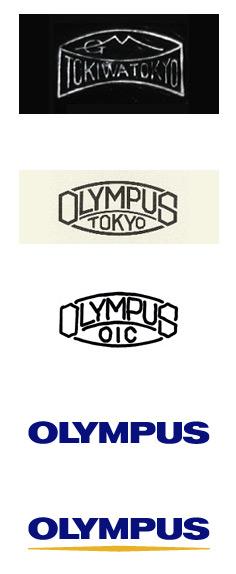 История изменения логотипа Olympus