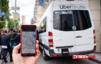 Презентация сервиса UberShuttle в Украине