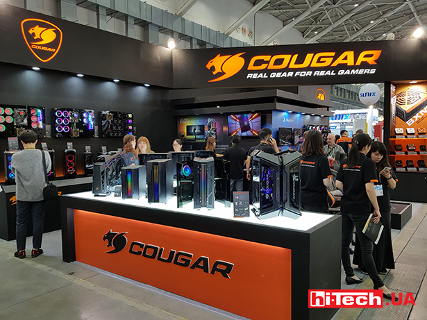 Cougar at Computex 2019