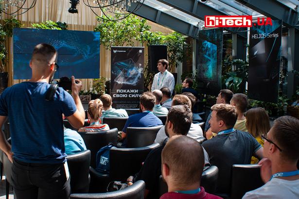 Презентация ноутбуков Acer в Украине 13 июля 2019 года