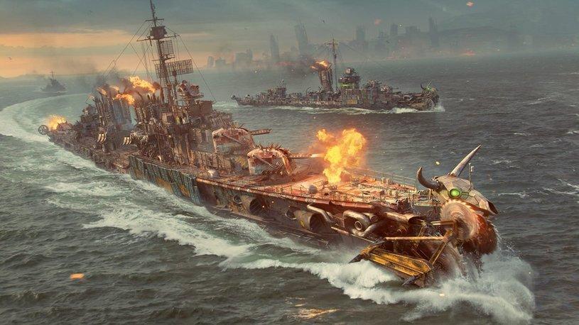 World of Warships Battle Royal