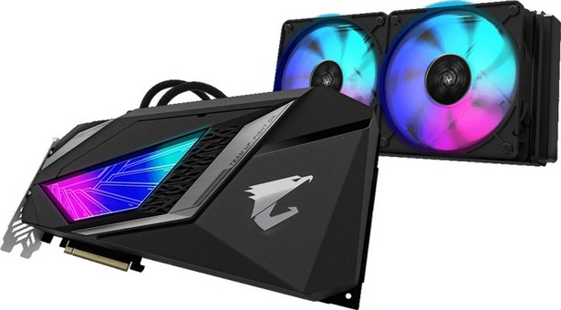 Aorus GeGeForce RTX 2080 Super WaterForce