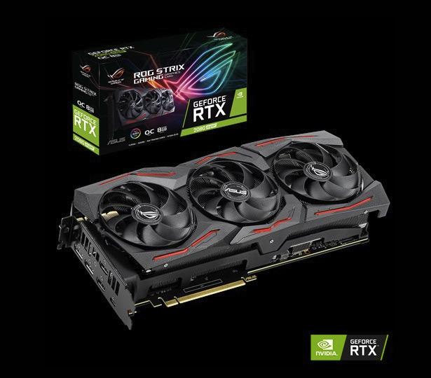 ASUS ROG Strix GeForce RTX 2080 SUPER OC (ROG-STRIX-RTX2080S-O8G-GAMING)