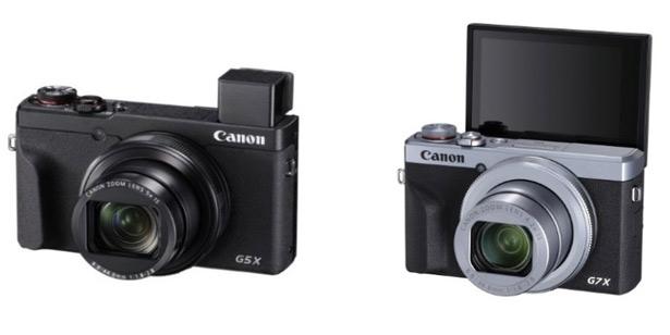 Canon PowerShot G5 X Mark II и PowerShot G7 X Mark III