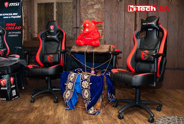 Игровое кресло MSI MAG CH110