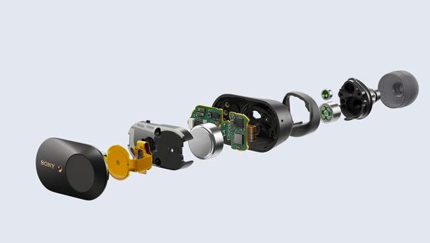 Конструкция Sony WF-1000XM3