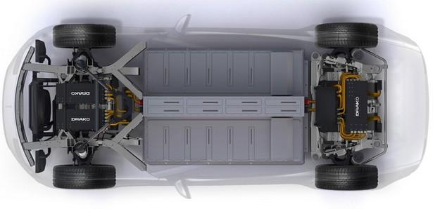 батареи электрокар Drako GTE
