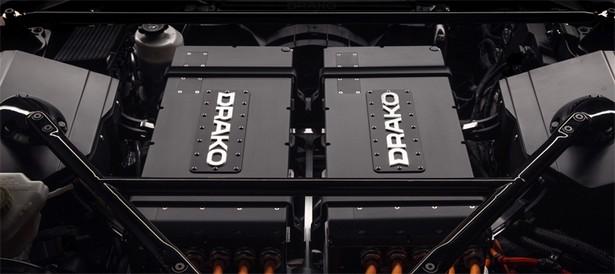 электрокар Drako GTE
