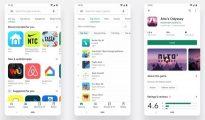 Google Play Store design 2019