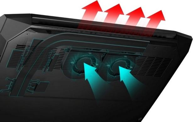 охлаждение HP Pavilion Gaming 15