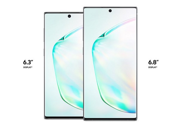 Samsung Galaxy Note 10 series