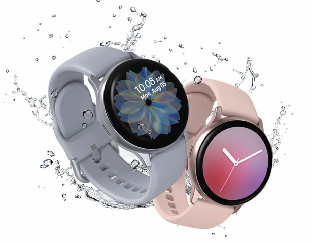 Защита в часах Samsung Galaxy Watch Active2