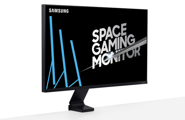 Samsung SR75Q Space Gaming Monitor