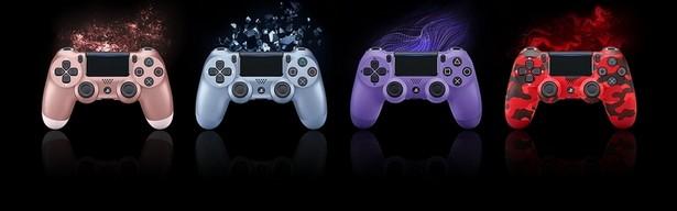 Sony DualShock 4 новые 4 цвета